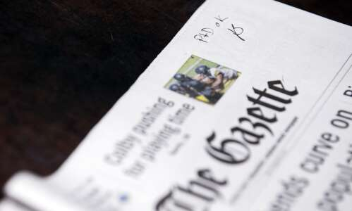 Print production issues again impacting today's edition of The Gazette