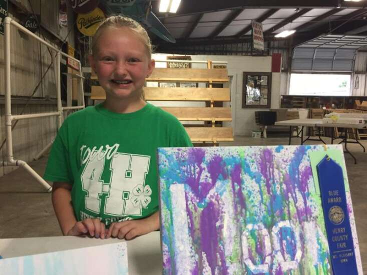 4-H members compete in Open Class and Clover Kids exhibits