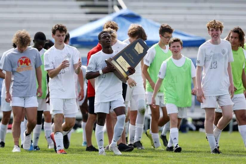 Photos: Cedar Rapids Xavier vs. Marion, Iowa Class 2A boys' state soccer quarterfinals