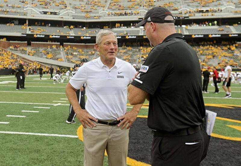 Kirk Ferentz's 144 wins as Iowa football coach in chronological order