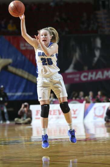 Montezuma's Boulton bombers rank at the top of the Iowa girls' basketball 3-point chart