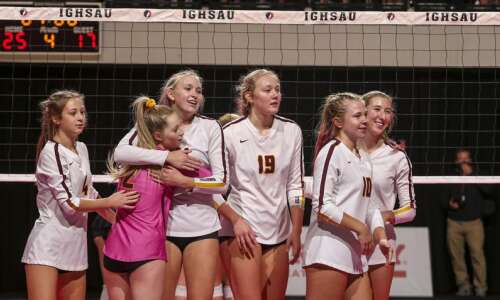 Photos: Ankeny vs. Ankeny Centennial, Iowa Class 5A state volleyball…