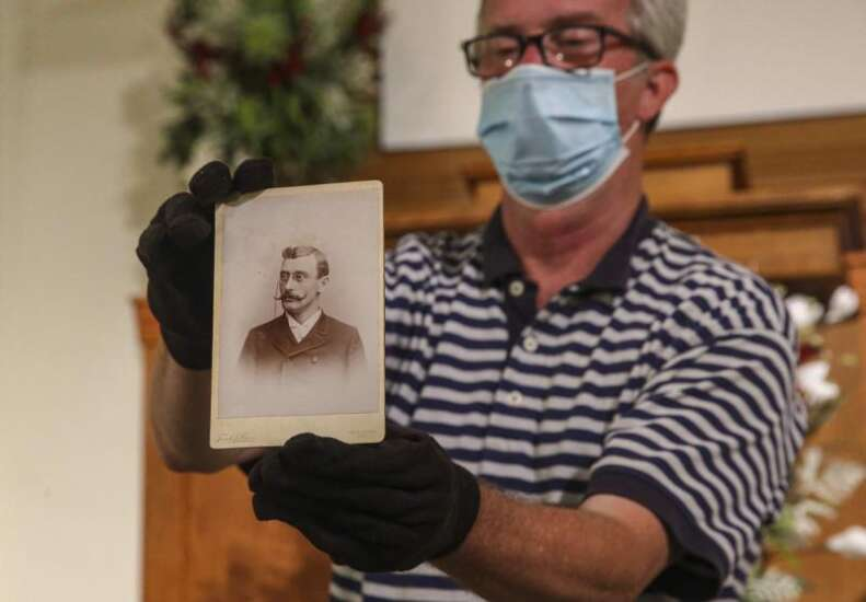116-year-old time capsule shows bit of Cedar Rapids Presbyterian Church history
