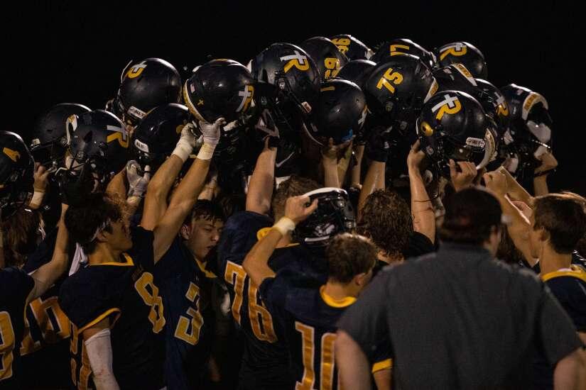 Photos: Iowa City Regina football beats West Branch