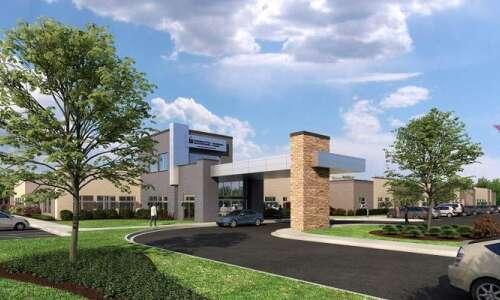 University of Iowa building rehab hospital in Coralville in partnership…
