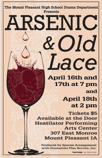 Mt. Pleasant staging 'Arsenic and Old Lace' this weekend