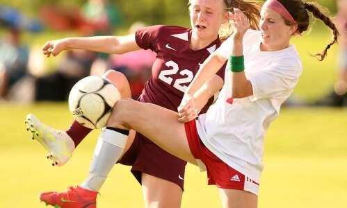 Photos: Mount Vernon vs. Marion regional girls' soccer semifinal