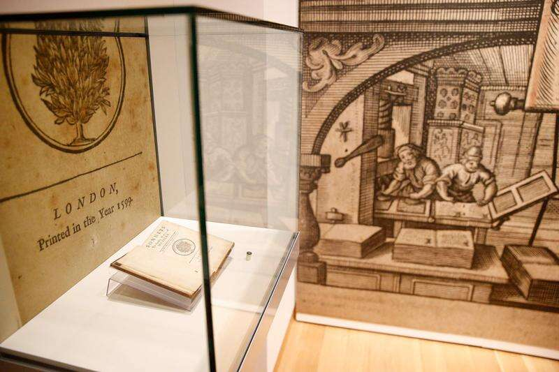 Copy of first printed collection of Shakespeare's plays coming to University of Iowa