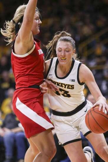Photos: Iowa women's basketball vs. Nebraska