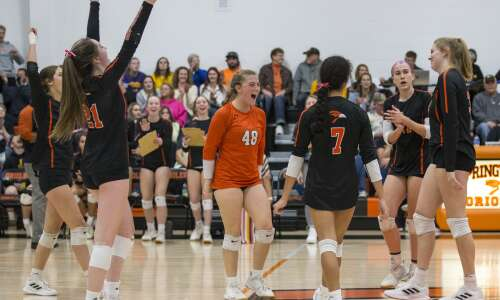 Springville sweeps Saint Ansgar for another state volleyball berth