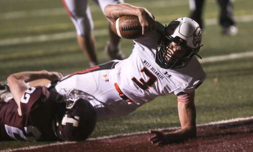 Photos: Independence football hosts West Delaware