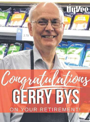 Congratulations Gerry Bys on Your Retirement!