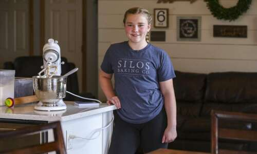 Robins teen 'bakes' the world a better place