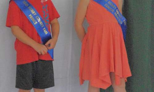 Little prince and princess crowned