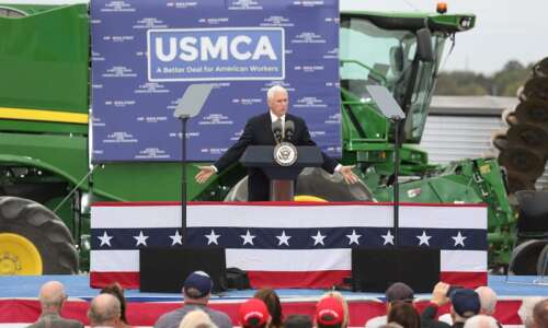 In Iowa, Vice President Pence 'turns up heat' on House…