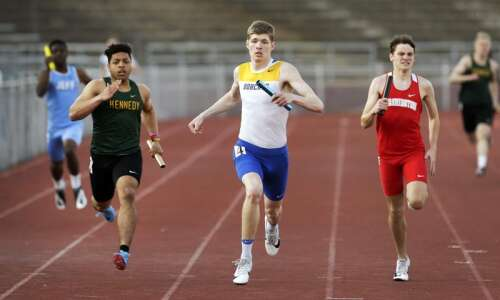 Area conferences will determine track and field champions Thursday
