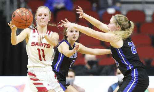 Photos: Montezuma vs. Saint Ansgar, Iowa Class 1A girls' state…