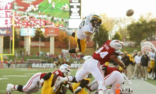 When C.J. Beathard went Superman over the Indiana goal line