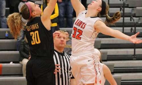 West Delaware girls' basketball photos