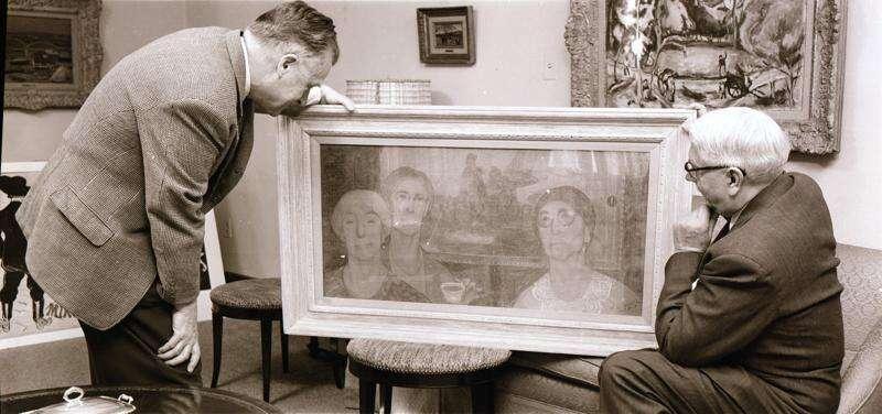 Time Machine 'Daughters of Revolution' Grant Wood took masterly revenge for DAR snub