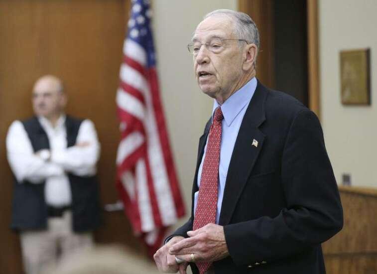 Former Sen. Chuck Grassley staffers launch whistleblower support organization