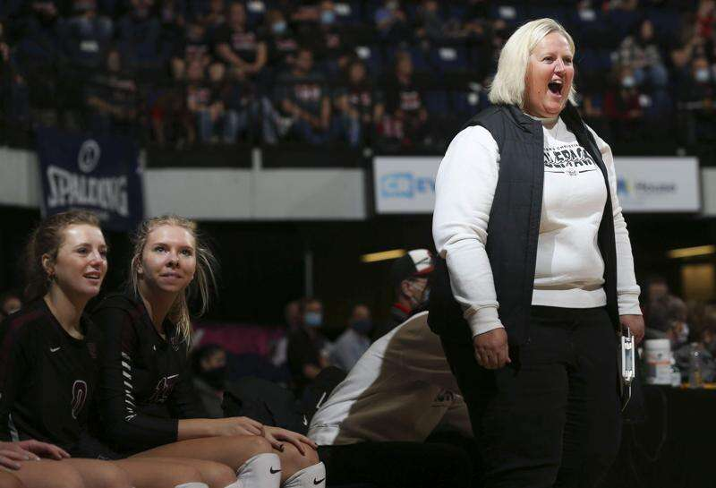 Western Christian earns its 20th straight state volleyball semifinal berth