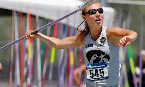 Iowa javelin thrower Marissa Mueller named Rhodes Scholar