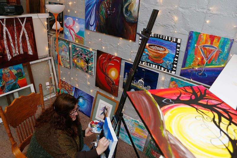 Drops of art: Local artist shares free art with the community