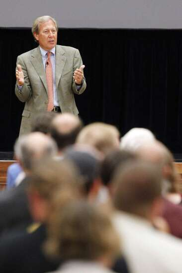 Fourth University of Iowa presidential candidate drilled