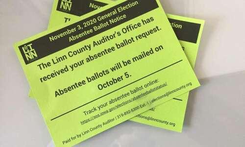 Democrats challenge Iowa district court rulings on absentee ballot requests