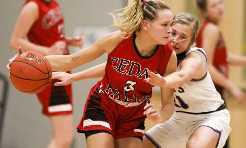 Photos: Cedar Falls vs. Iowa City Liberty, Iowa high school…