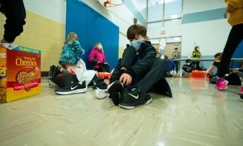 Nonprofit gives Nikes to every student at Grant Elementary