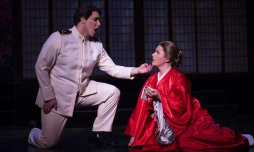 Review: 'Madama Butterfly' soaring with Cedar Rapids Opera Theatre