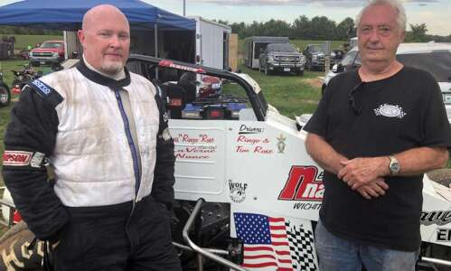 Tim Rose enjoys racing for his dad