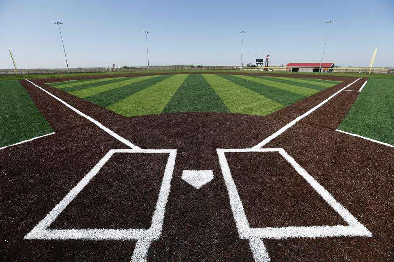 Prospect Meadows is a brand-new baseball and softball complex with no baseball or softball right now