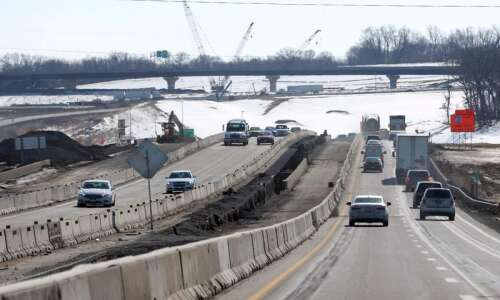 Ramp closure, traffic changes announced as work continues on I-80/I-380