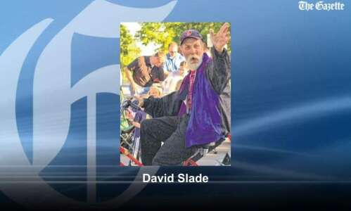 North Liberty 'can man' David Slade dies, remembered by community…