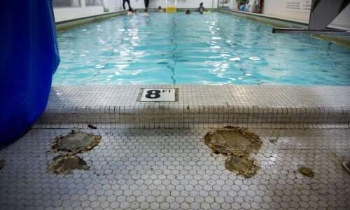 YMCA pool briefly closed for repairs