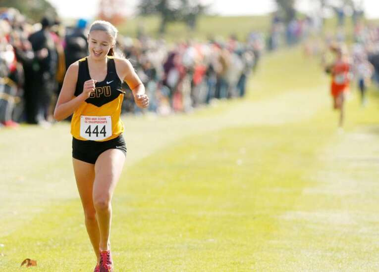 CPU cross country earns pair of state titles as Adrianna Katcher repeats, Myles Bach dethrones defending champ