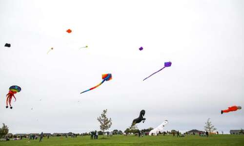 Photos from the 'Take Flight!' kite festival in North Liberty…
