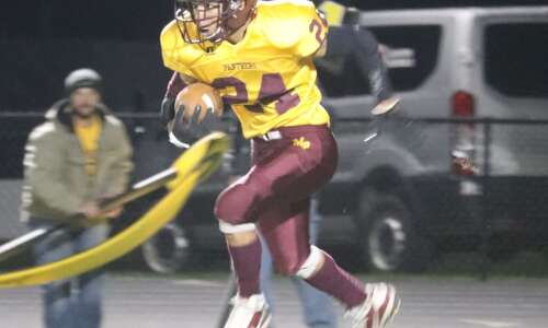 Mt. Pleasant football ends year with loss