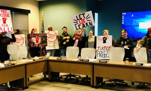After raucous 2020 meeting, regents update power to remove protesters