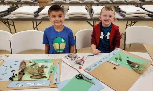 Jackson Clover Kids learn about habitats