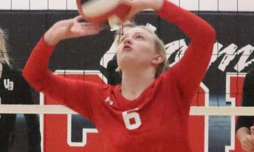 Cardinal volleyball team runs into a buzzsaw