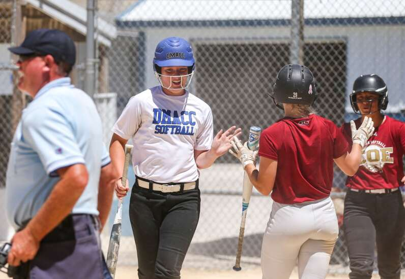 Abby Flanagan focuses on pitching in softball summer league