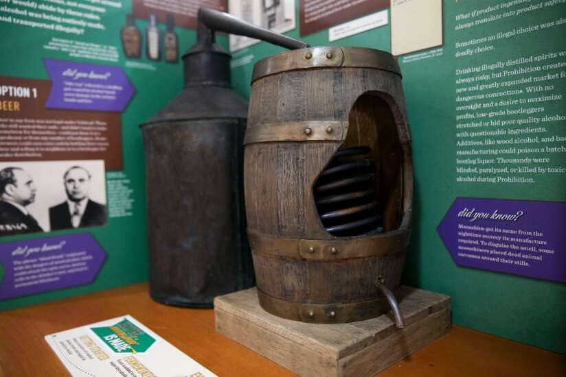 Spirited Cedar Rapids exhibit at The History Center serves new perspectives on alcohol in America