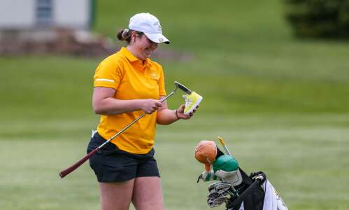 Photos: MVC Valley division girls' golf