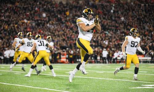 Iowa football film review: Closer look at 7 forced turnovers