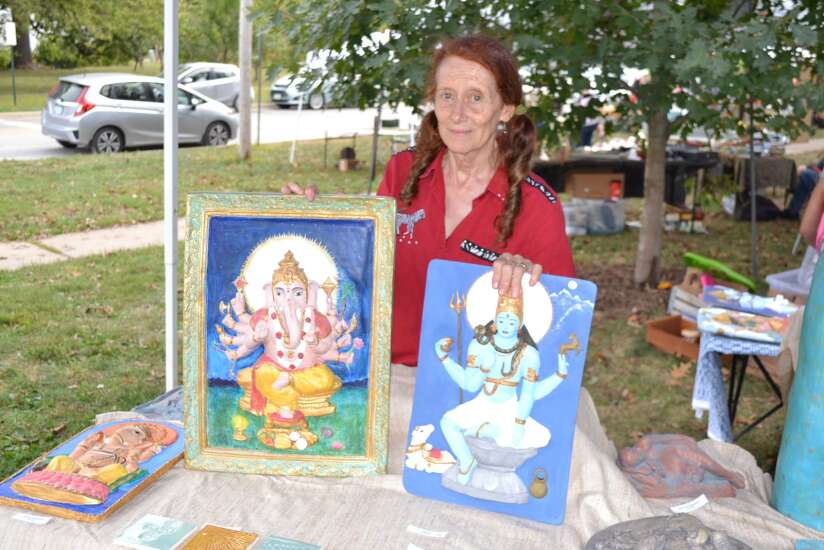 Fairfield Farmers Market showcases town's artists