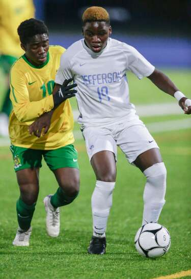 Ombeni Mubake is scoring goals and making memories again with Kennedy boys' soccer